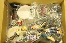 WHOLESALE GREAT LOT 25 Anime Girl's Figures Official Japan