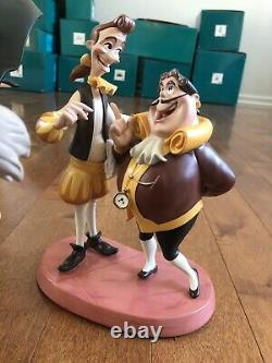 Wdcc Disney The Curse Is Broken Set Rare Beauty And The Beast