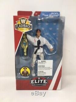 Weeklong Sale Mattel Wwe Flashback Series Elite Collection Jake Ricky Steve
