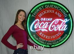 Wholesale Collection 4 giant 36 neon signs Corvette Mustang Mopar Coca Cola