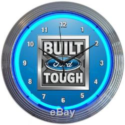 Wholesale lot Collection of 5 Ford Neon clock signs Trucks Parts F-150 Mustang