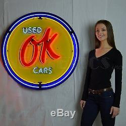 Wholesale lot of 12 giant 36inch neon signs metal cans Chevy Mopar Ford Mustang