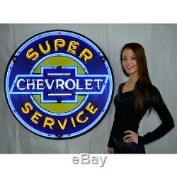 Wholesale lot of 9 36 inch neon signs metal cans Chevy Ford Mustang Shelby OLP