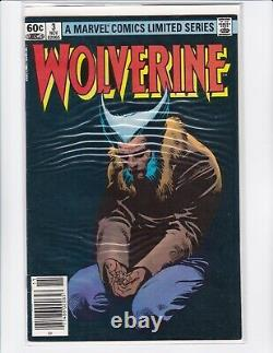 Wolverine Limited Series #1-4 Claremont & Miller 1982 Marvel Comics VF+ (8.5)