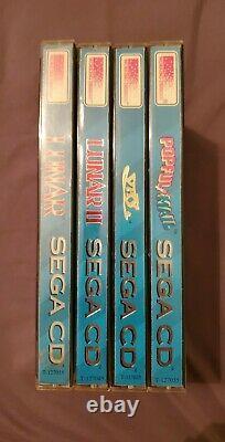 Working Designs Ultra Series Sega CD Collection Vay Popful Mail Lunar 1 Lunar 2