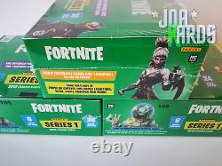 X3 Hobby Box 24 Pack 2019 PANINI Fortnite Cards Serie 1 Sealed Black Knight