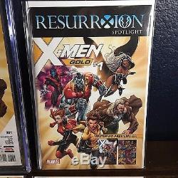 X-MEN GOLD 1 CGC SS 9.8 Marc Guggenheim! RECALLED 1st Print + Resurrxion Preview